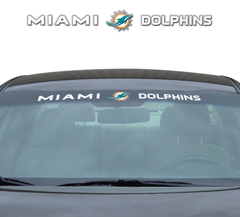 "Miami Dolphins ""Team Pride"" Windshield Decal"