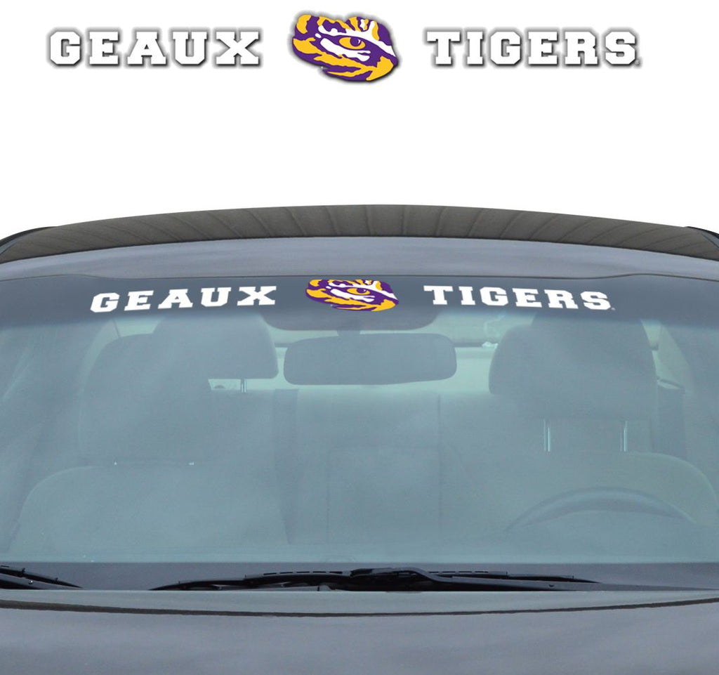 "LSU Tigers ""Team Pride"" Windshield Decal"