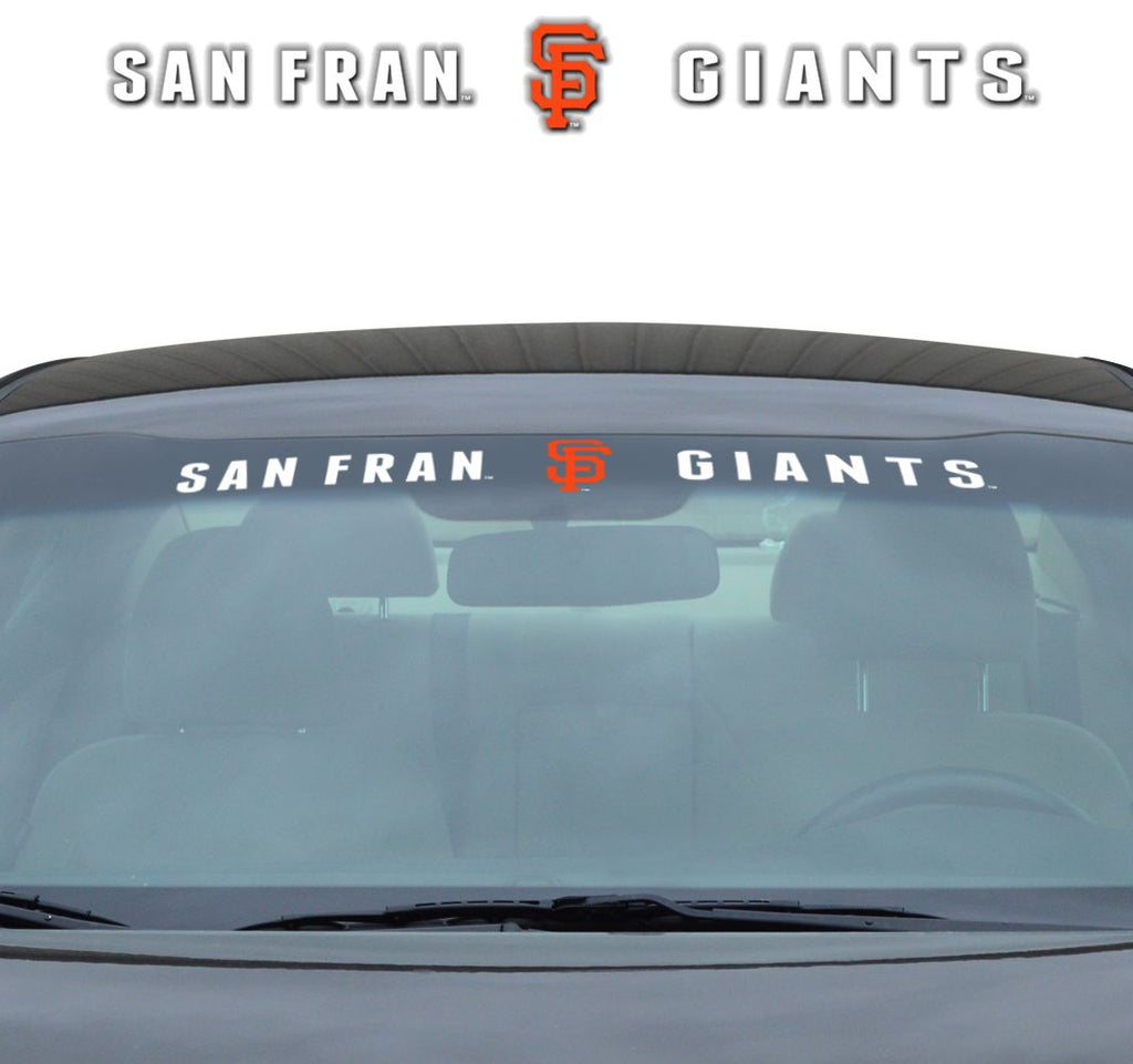 "San Francisco Giants ""Team Pride"" Windshield Decal"