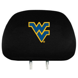 West Virginia Mountaineers Premium Embroidered Headrest Covers