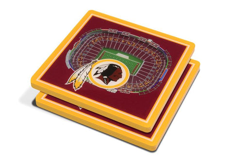 NFL Washington Redskins 3D StadiumViews Coasters