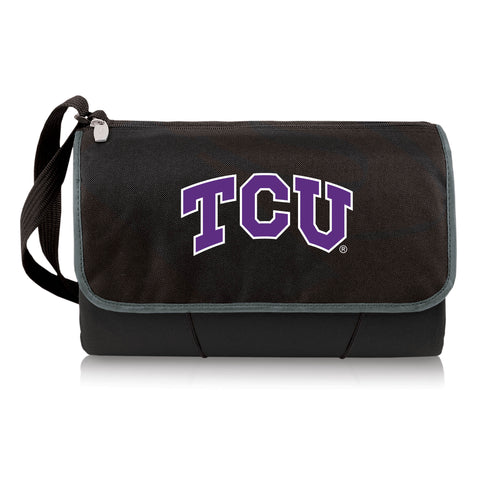 TCU Horned Frogs 'Blanket -  Tote' Outdoor Picnic Blanket