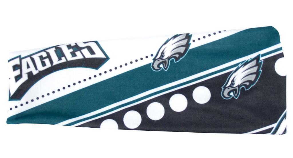 Philadelphia Eagles Stretch Patterned Headband