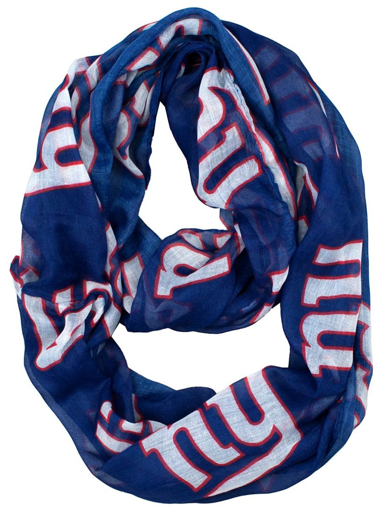 New York Giants Infinity Scarf