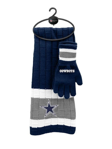 Dallas Cowboys - Limited Edition Heavy Knit Glove & Scarf Gift Set