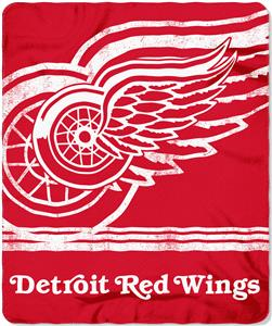Detroit Red Wings 50x60 Fade Away Fleece Blanket