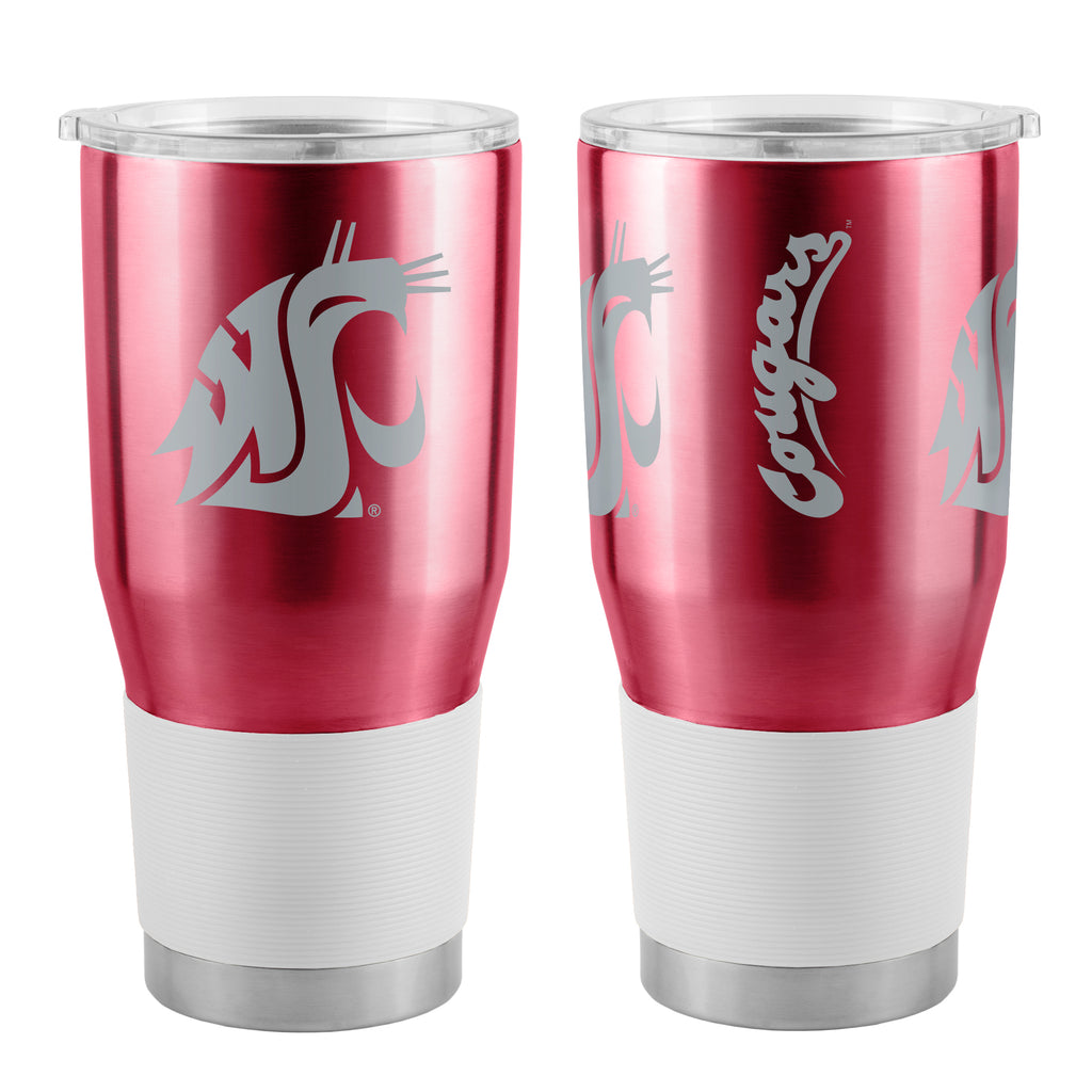 Washington State Cougars Travel Tumbler 30oz Ultra Red