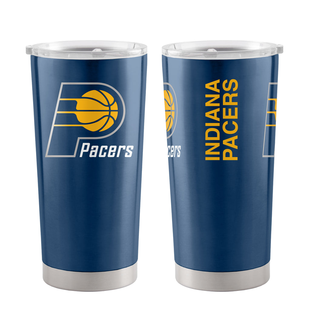 Indiana Pacers Travel Tumbler 20 oz Ultra Blue