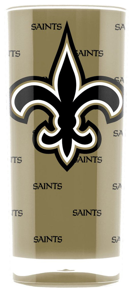 New Orleans Saints Tumbler - Square Insulated (16oz)
