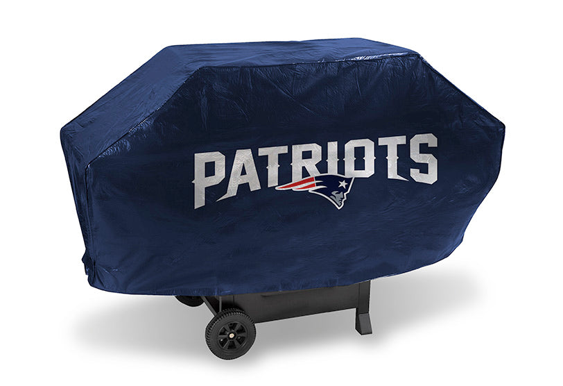 New England Patriots Grill Cover Deluxe