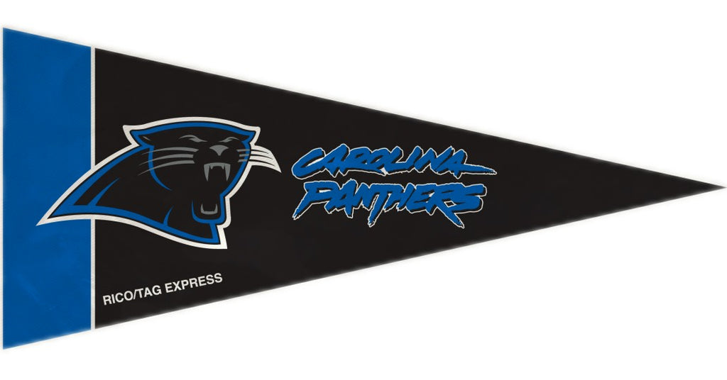 Carolina Panthers Mini Pennants - 8 Piece Set