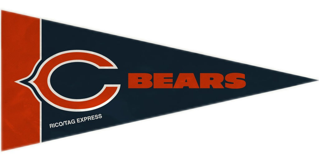 Chicago Bears Mini Pennants - 8 Piece Set