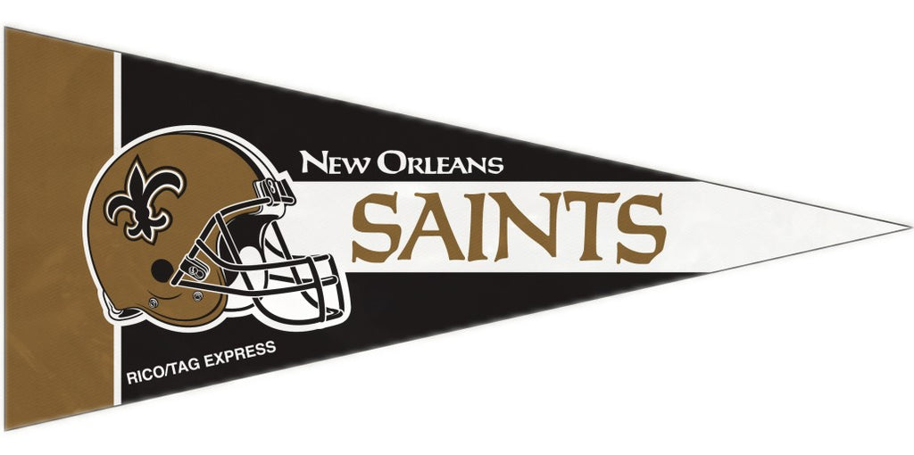 New Orleans Saints Mini Pennants - 8 Piece Set