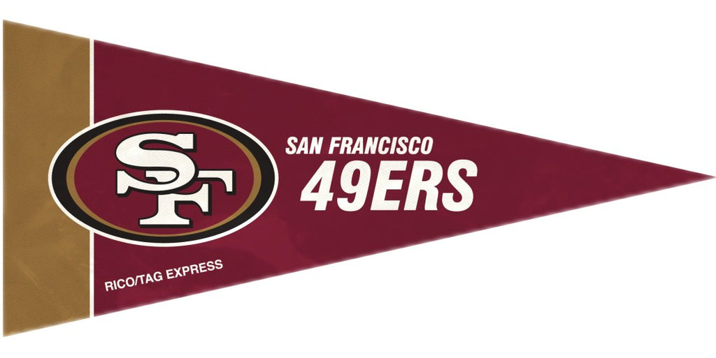 San Francisco 49ers Mini Pennants - 8 Piece Set