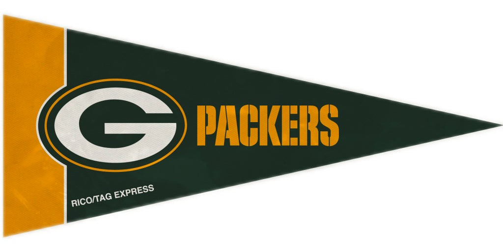 Green Bay Packers Mini Pennants - 8 Piece Set