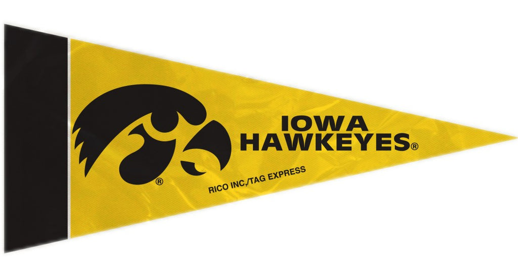 Iowa Hawkeyes Mini Pennants - 8 Piece Set