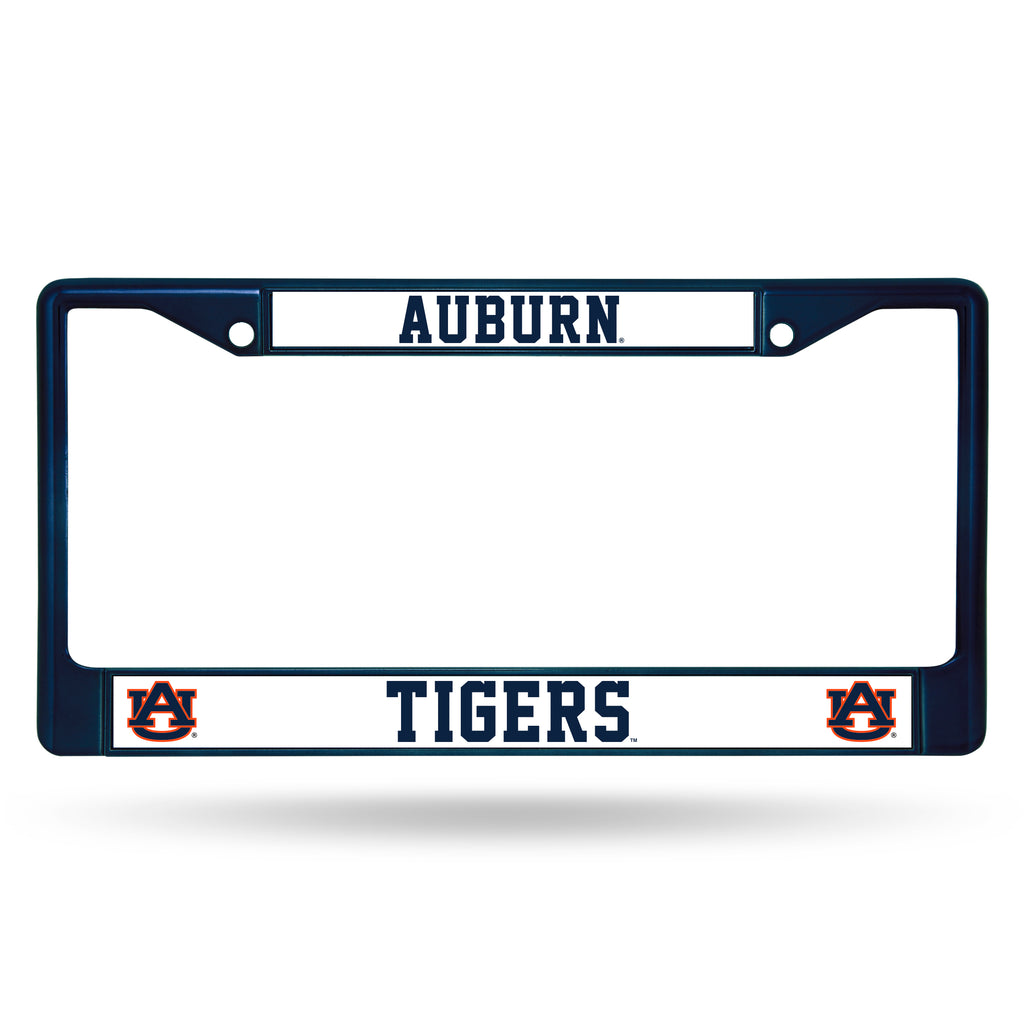 Auburn Tigers Metal License Plate Frame - Navy