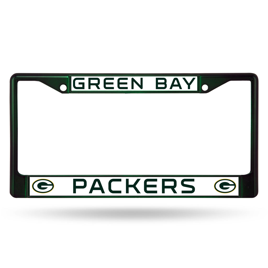 Green Bay Packers Metal License Plate Frame - Dark Green