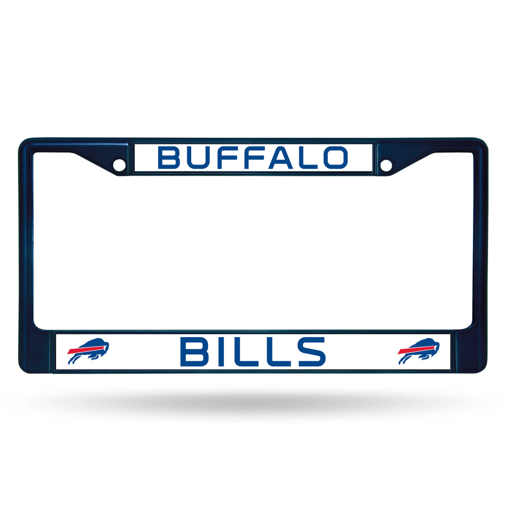 Buffalo Bills Metal License Plate Frame - Navy