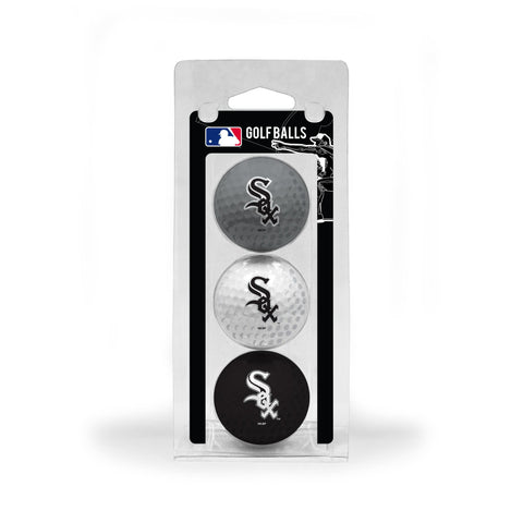 Chicago White Sox 3 Golf Ball Pack