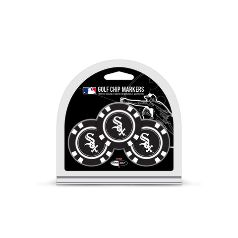 Chicago White Sox 3 Pack Golf Chip Ball Markers