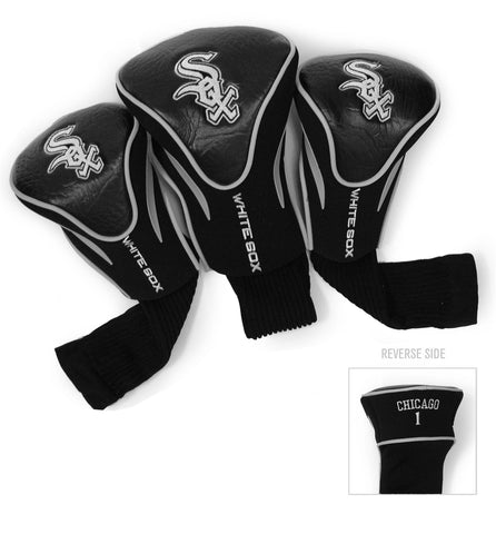 Chicago White Sox 3 Pack Contour Head Covers