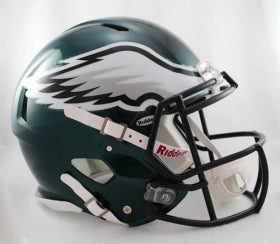 Philadelphia Eagles Revolution Speed Pro Line Helmet