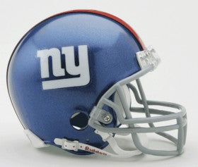 New York Giants Replica Mini Helmet w/ Z2B Face Mask