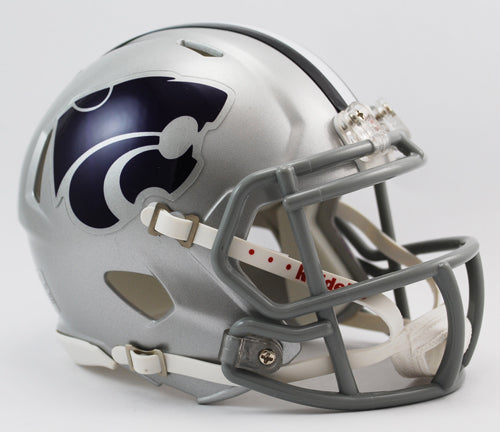 Kansas State Wildcats Speed Mini Helmet