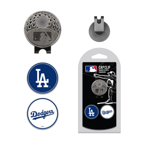 Los Angeles Dodgers Cap Clip With 2 Golf Ball Markers