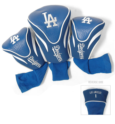 Los Angeles Dodgers 3 Pack Contour Head Covers