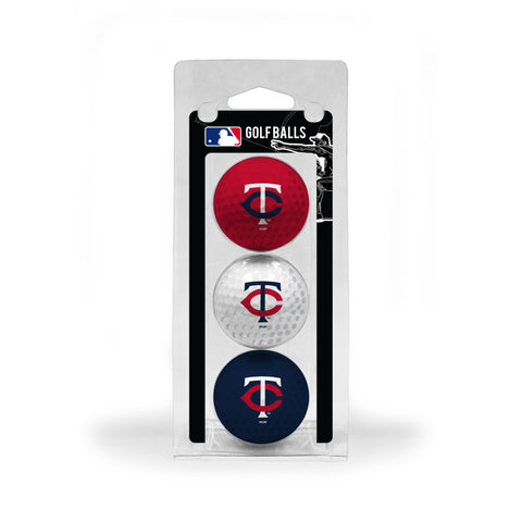 Minnesota Twins 3 Golf Ball Pack