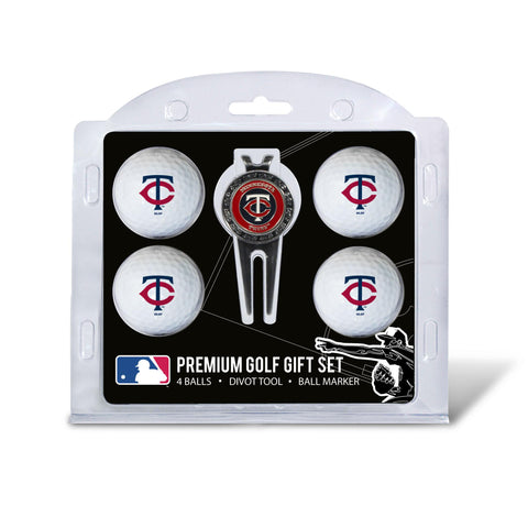 Minnesota Twins 4 Golf Ball And Divot Tool Set