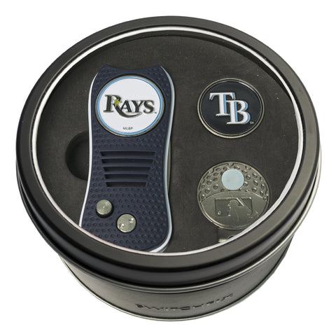 Tampa Bay Rays Tin Gift Set with Switchfix Divot Tool, Cap Clip, and Ball Marker