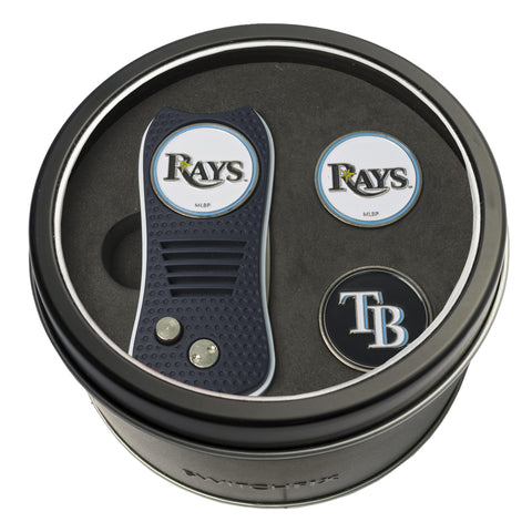 Tampa Bay Rays Tin Gift Set with Switchfix Divot Tool and 2 Ball Markers