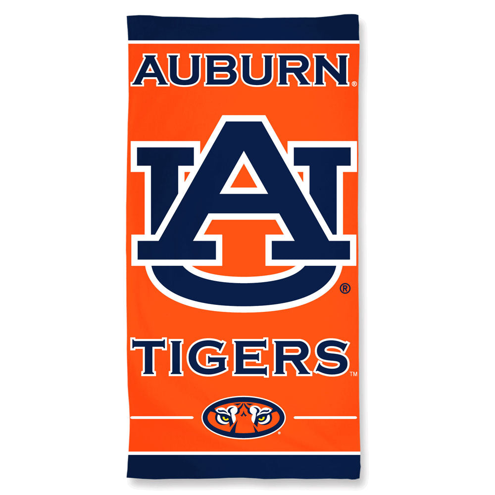 Auburn Tigers Premium Beach Towel