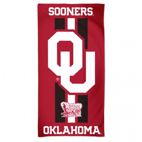 Oklahoma Sooners Premium Beach Towel - Alternate
