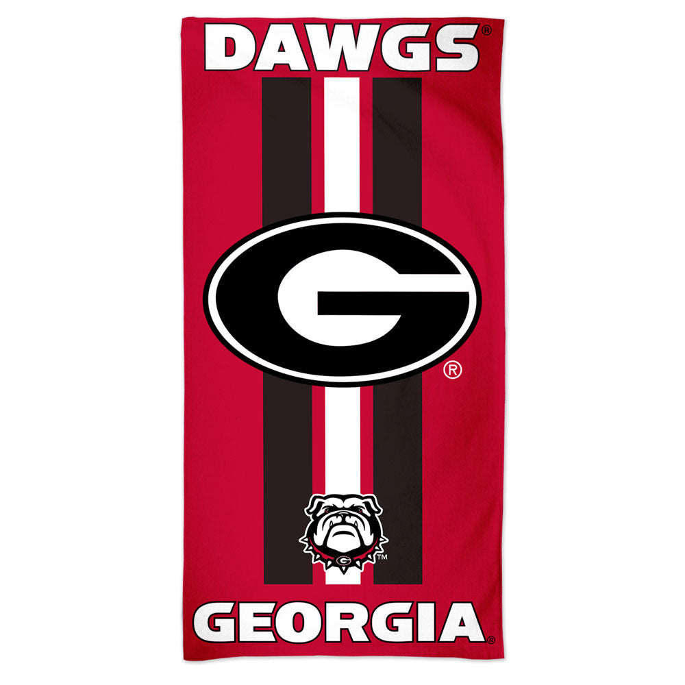 Georgia Bulldogs Premium Beach Towel