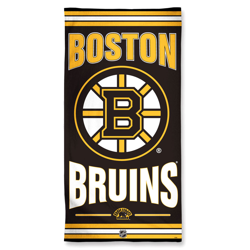 Boston Bruins Premium Beach Towel