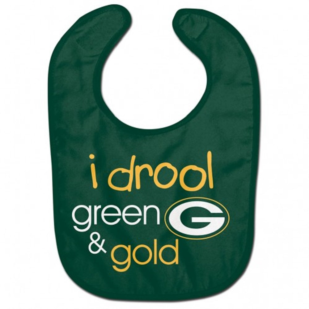 Green Bay Packers All Pro Drool Baby Bib
