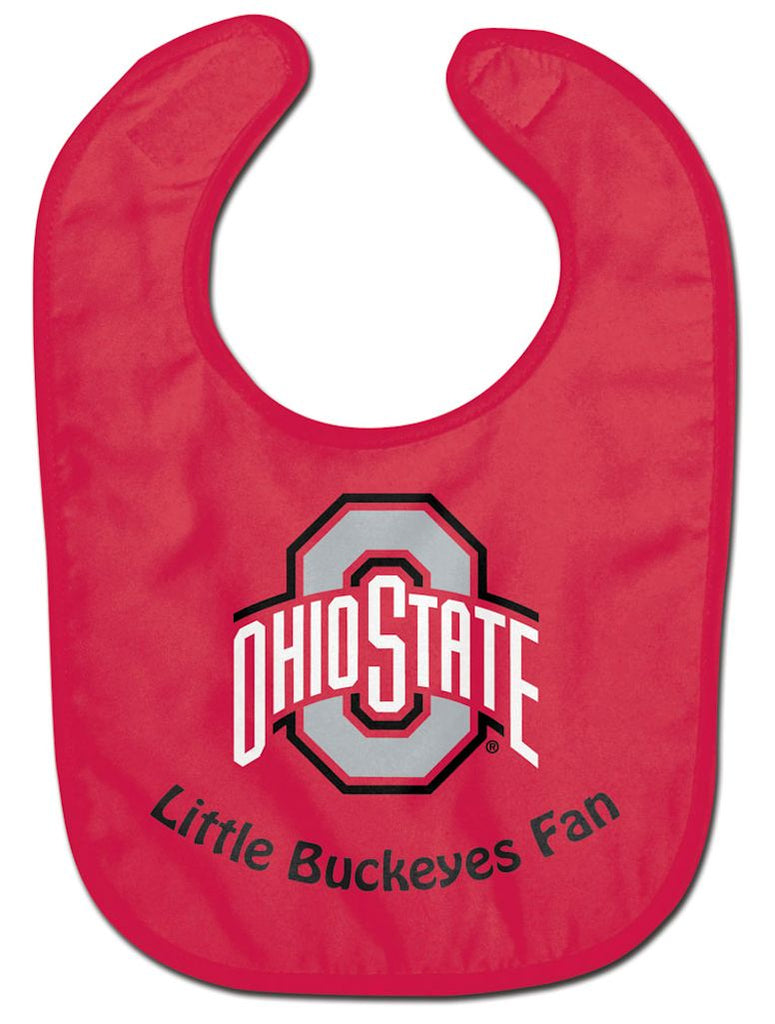 Ohio State Buckeyes Baby Bib - All Pro Little Fan