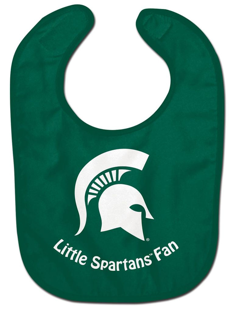 Michigan State Spartans Baby Bib - All Pro Little Fan