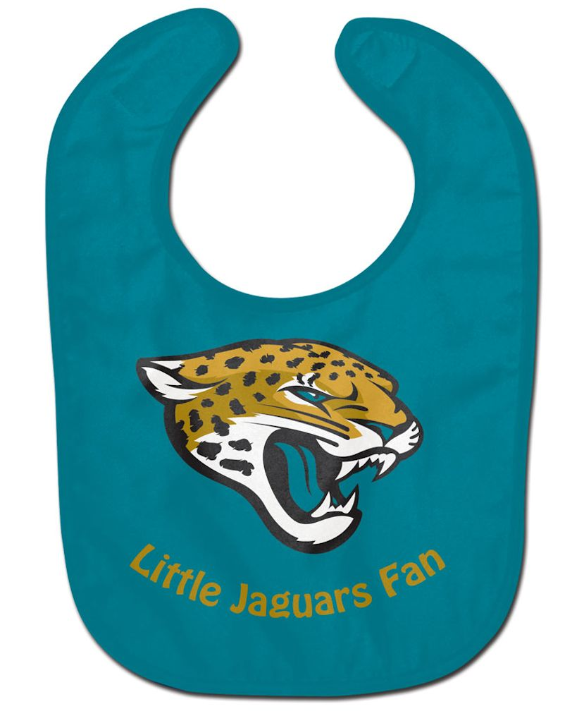 Jacksonville Jaguars All Pro Little Fan Baby Bib