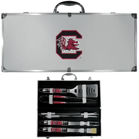 S. Carolina Gamecocks 8 pc BBQ Set - Tailgater