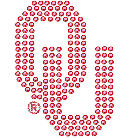 Oklahoma Sooners   Bling Decal