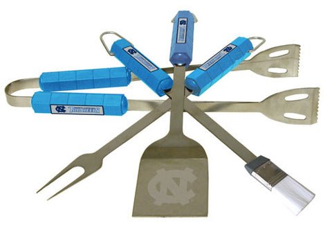 N. Carolina Tar Heels 4 pc BBQ Set