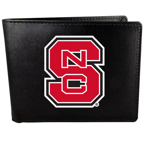 N. Carolina St. Wolfpack Bifold Wallet - Std Large Logo