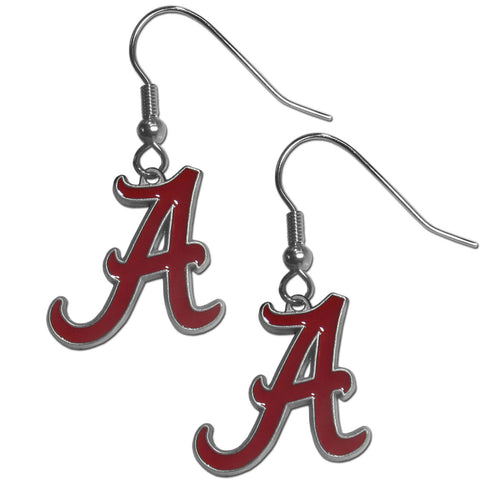 Alabama Crimson Tide   Dangle Earrings
