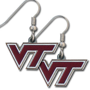 Virginia Tech Hokies   Dangle Earrings