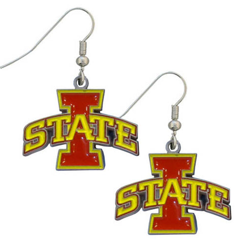 Iowa St. Cyclones Dangle Earrings